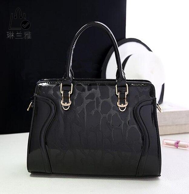 LINLANYA Mulheres shoulder bag 2016 Nova Chegada shell-shaped Pu de Alta qualidade bolsa feminina bolsa de senhora Sacos Do Mensageiro 10 cor Z-338