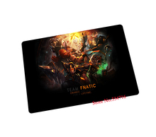 fnatic mouse pad lol gaming mouse pad laptop large mousepad gear notbook computer pad to mouse gamer brand play mats