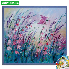 DUOYISHANG 5D DIY Diamond Painting Animals Butterfly Full Square Embroidery Diamond Mosaic Butterflies for Decoration Paintings dazzle butterfly prints diamond paintings