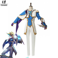 ROLECOS Brand New Game LOL Cosplay Costumes Star Guardian 2017 The Prodigal Explorer Ezreal Cosplay Costume