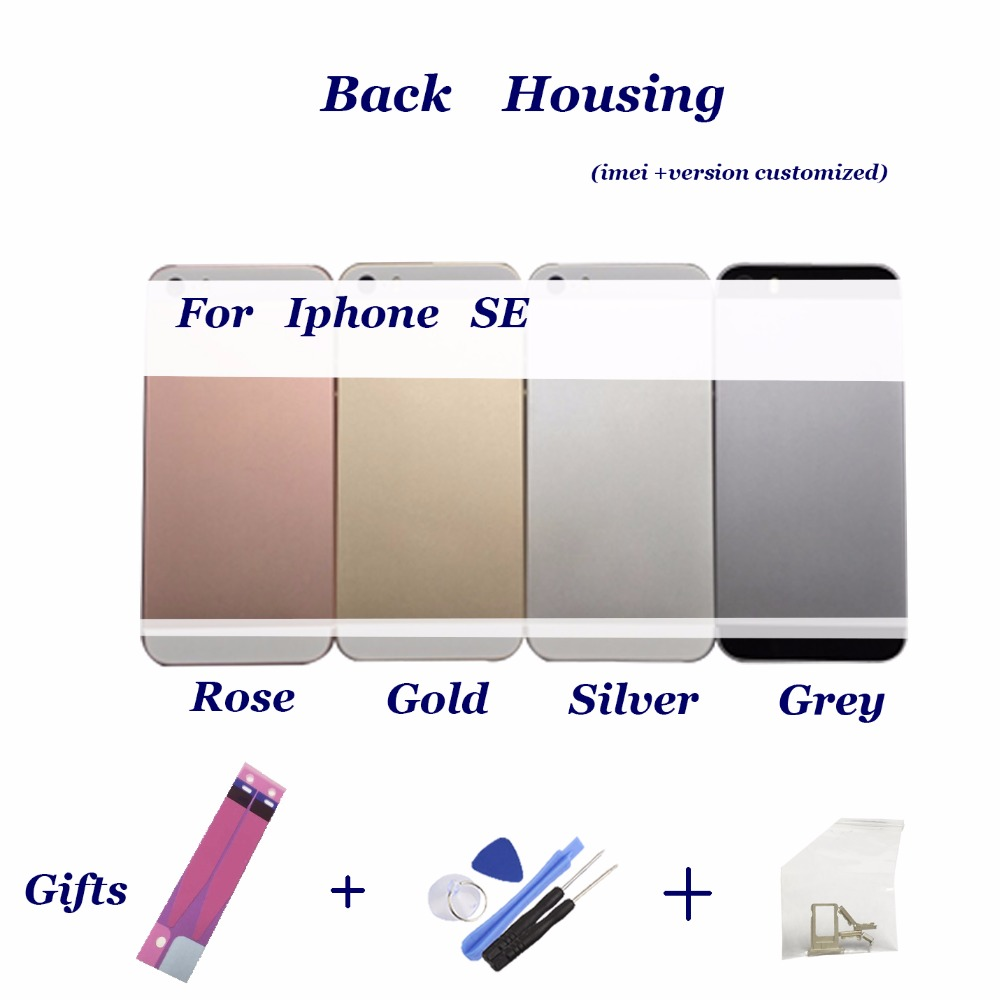 Sticker IMEI iPhone Chassis Back-Housing A1723battery-Cover Middle-Frame for SE Sim-Tray