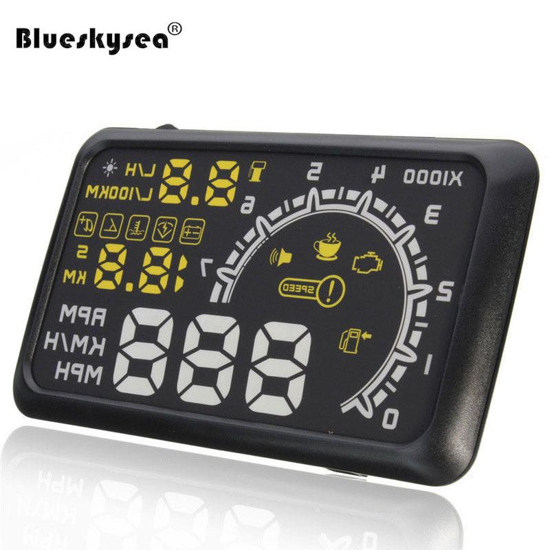 Car HUD Display Car HUD Parameter Display OBD Car Driving Computer Water Temperature Oil Consumption PRM Projector