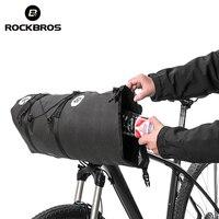 ROCKBROS Cycling Bag For Bicycle Waterproof Big Capacity MTB Bike Handlebar Bags Front Frame Trunk Pannier Bike Accessories Bag
