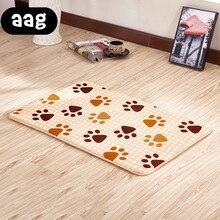 AAG Modern Floor Mat Anti-slip Water Absorption Printed flower Multicolored Door Mat Kitchen Carpet Toilet Rug Porch Doormat Rug недорого