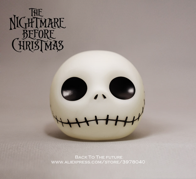 Disney The Nightmare Before Christmas Piggy Bank 10cm Action Figure Anime Decoration Collection Figurine Toy Model For Children