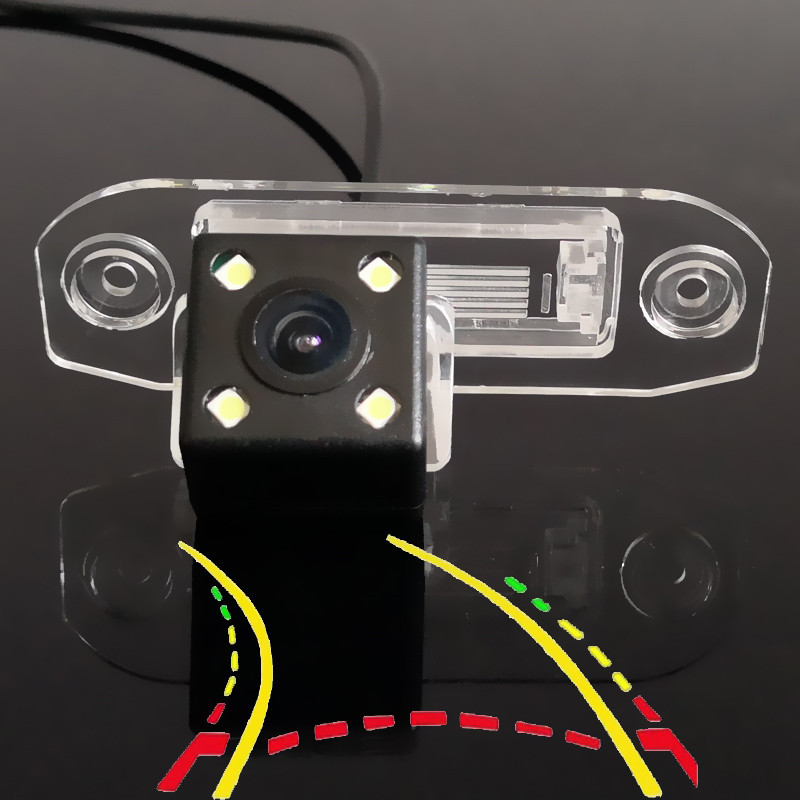 Intelligent Dynamic Trajectory Tracks Car Rear Camera For Volvo S40 S40L V40 V50 V60 S60 S60L XC60 C70 V70 XC70 S80 S80L XC90