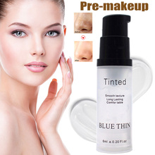 6ml Facial Makeup Primer Makeup Base Foundation Primer Cream Oil Control Invisible Pores Foundation Gel жидкость сливки albion gel mask foundation