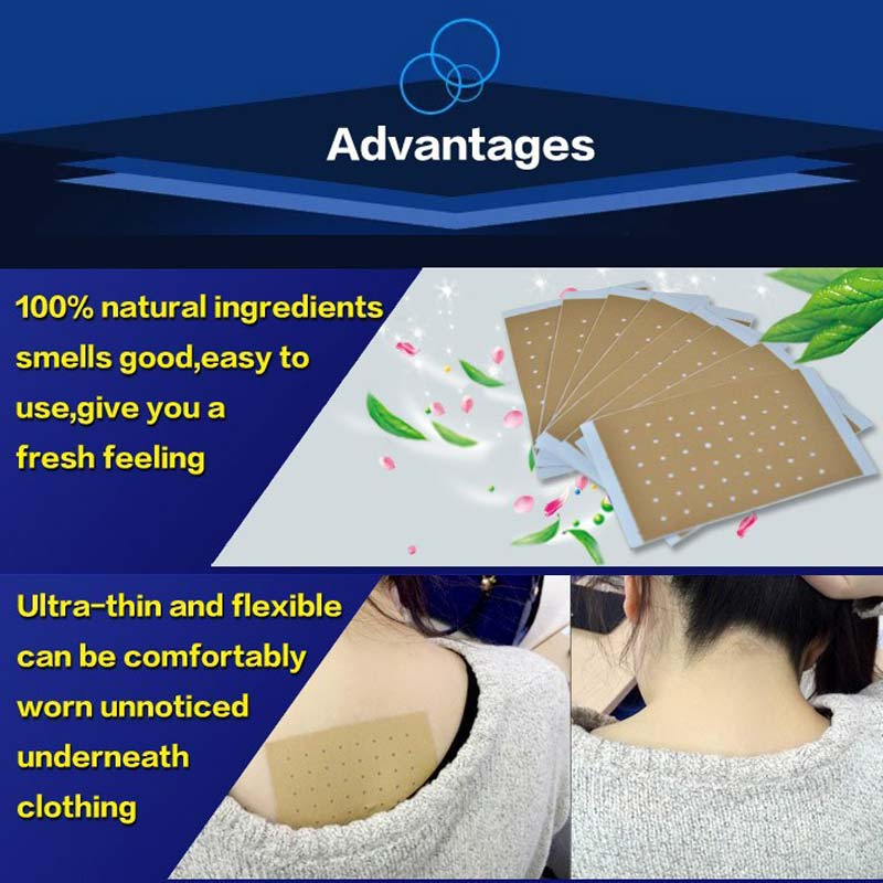 20Pcs Chinese Medical Plaster Far Infrared Pain Relief Stickers Shoulder Leg Neck Pain Relieving Porous Patch Health Care CCP013 2boxes 12pcs waist pain magnetic plaster from back pain orthopetic pain relief plaster intercostal neuralgia sciatica plaster