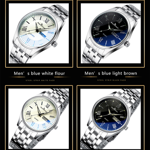KEEP IN TOUCH Wedding Couple Watches for Lovers Steel Waterproof Gifts Couples Watch Man and Ladies Dress Men Clock Reloj Hombre Lahore