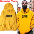Justin Bieber FOG High Street Hoodie Cotton Purpose Tour Sweatshirt Unisex Yellow Pullover Winter Coat