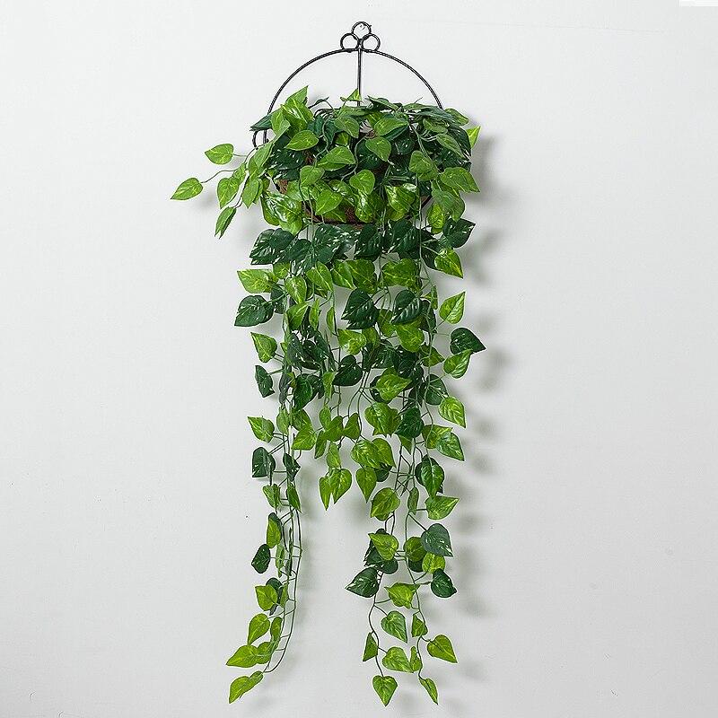 1pcs 90cm Artificial Ivy Leaf Artificial Plants Green Garland Plants Vine Fake Foliage Home Decoration Wedding Party Decoration