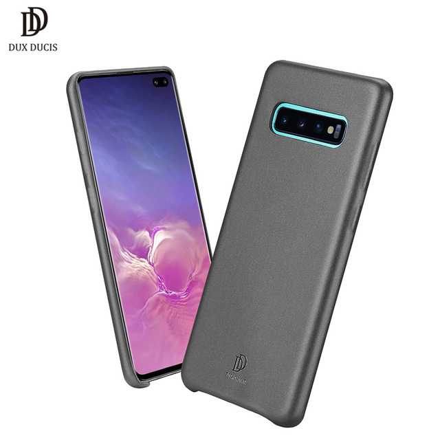e7942264bd DUX DUCIS Soft PU Leather Case for Samsung Galaxy S10 Plus Slim Shockproof  Cover for Samsung S10 Plus S10e S10plus Phone Cases
