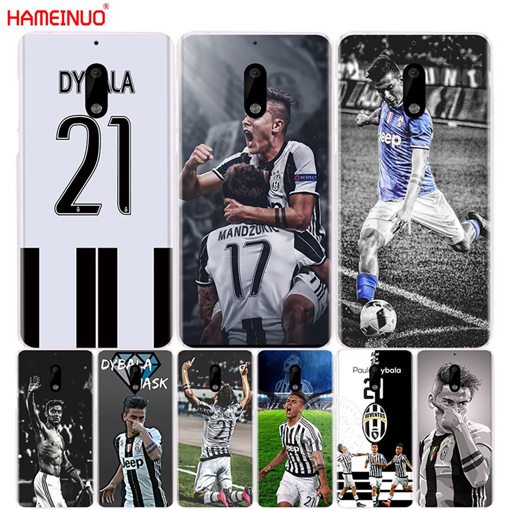 HAMEINUO Italy famous soccer 21 Paulo DYBALA cover phone case for Nokia 9 8 7 6 5 3 Lumia 630 640 640XL 2018
