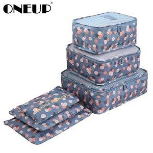 ONEUP 6 PCS Travel Storage Bag