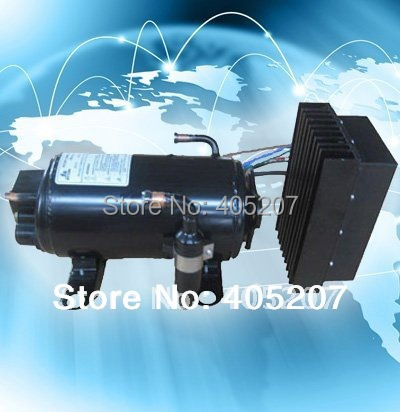 12vdc aircon compressor for special vehicle of military transit off road tracked vehicle a c car parking engine off a/c