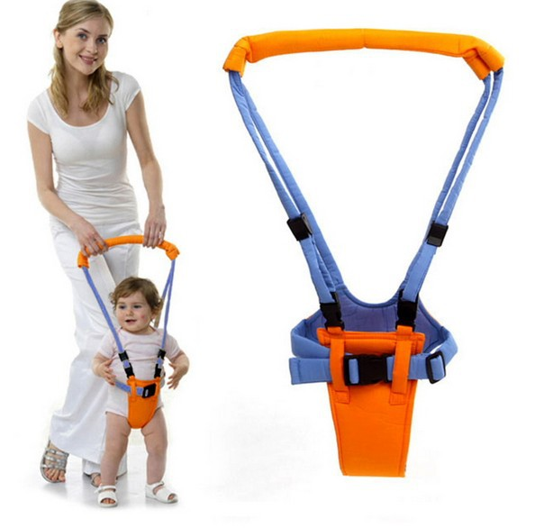 Baby Yellow Blue Walking Belt Adjustable Leashes Infant Toddler Strap Harness Baby Learn ...