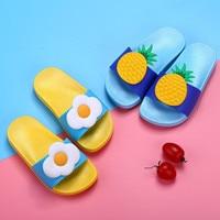 n5012019 Boys Girls Slippers Toddler Water Children Flip Flops Barefoot Child Fruit Shoes Swimming Summer for Kids