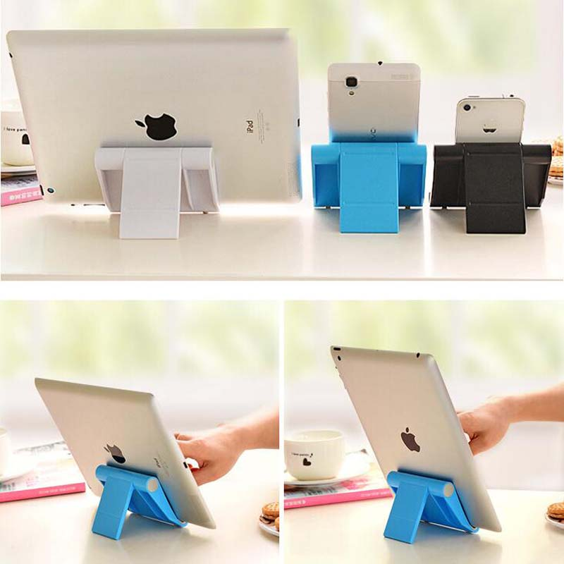 Universal Mobile Phone Stand Flexible Desk Phone Holder for iPad iPhone Sony HTC ASUS Samsung Cellphone And Tablet Stand