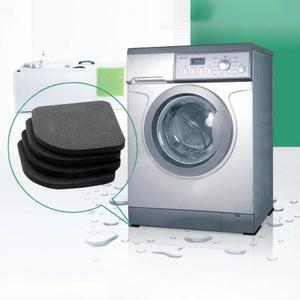 Adoolla 4pcs/set Anti-vibration Pad Washer Anti-Slip Mats Shock Absorbers Noiseless Pad for Washing Machine