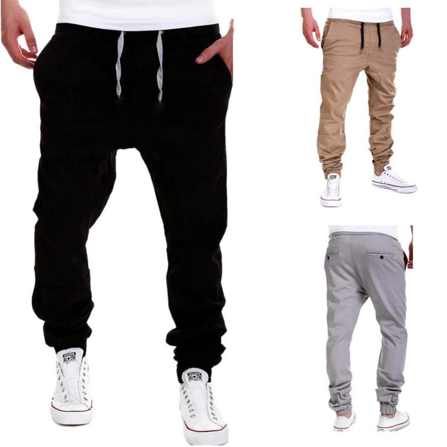 Mens Casual Summer Fashion tideway leisure males Clothing casual jogger pants Hot Sale Full Fashion Pants kargo pantolon  #g6(China)