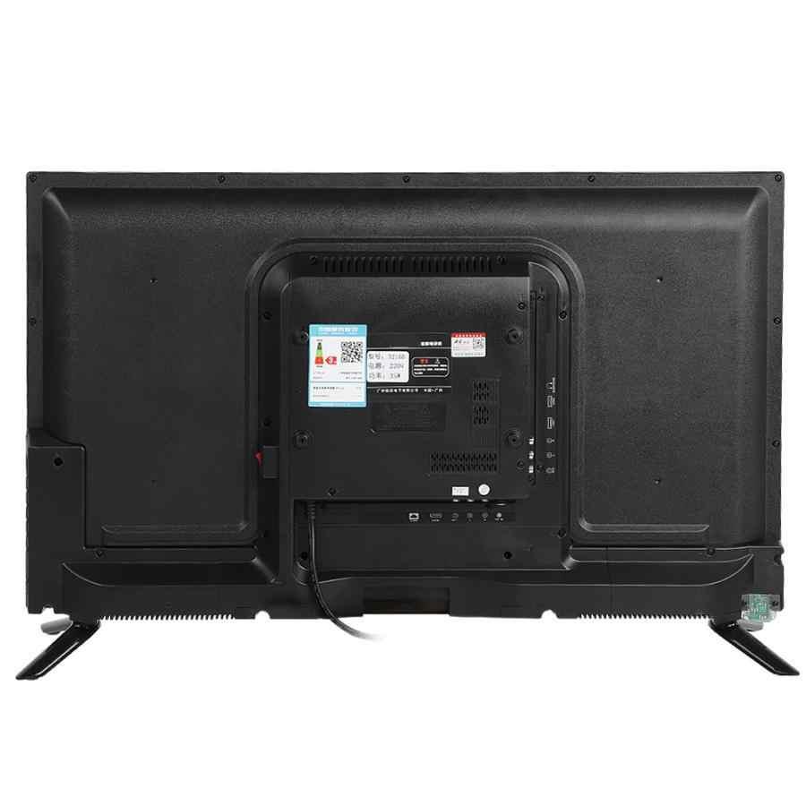 32 Cal hd lcd TV 1366*768 45W 60HZ HDR konwersja W czasie rzeczywistym telewizja obsługuje USB HDMI RF antena wejście TV wersja 110-240V