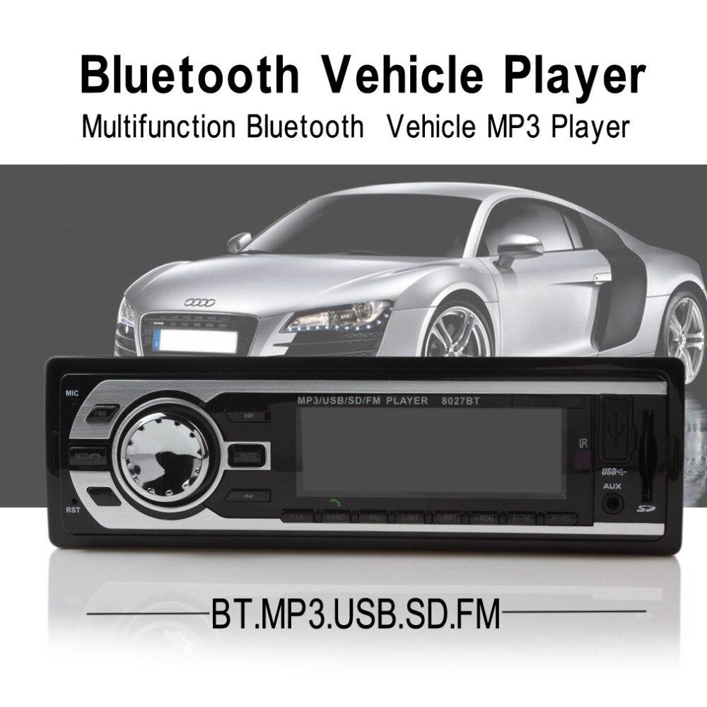 HP 2127BT Bluetooth font b Car b font font b Radio b font Stereo Audio USB