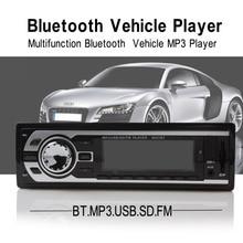 Hp-2127bt Bluetooth автомобиля Радио стерео аудио USB/SD/FM автомобиля Авто MP3-плееры Поддержка звонки Hands-Free + дистанционное управление