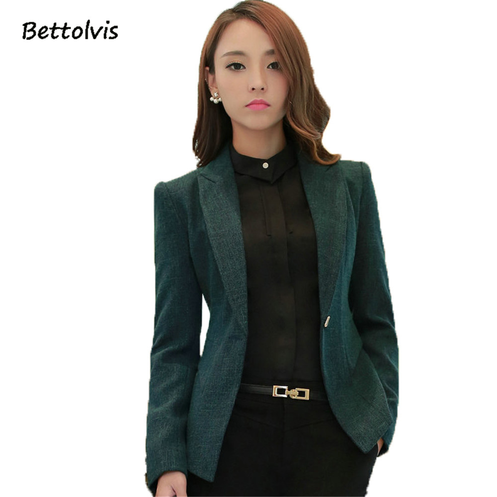 2018 New Soft Cotton Jacket Fashion Gray Green Women Casual Wear Long Sleeve Coat Feminine Clothes Ladies Vogue Top