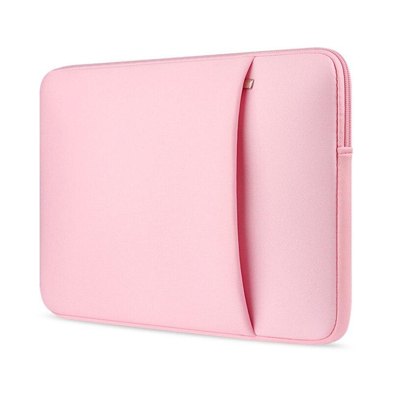 Manga del ordenador portátil 14, 15.6 pulgadas portátil 13.3 para MacBook Air pro 13 caso, bolso del ordenador portátil 11,13, 15 pulgadas funda protectora