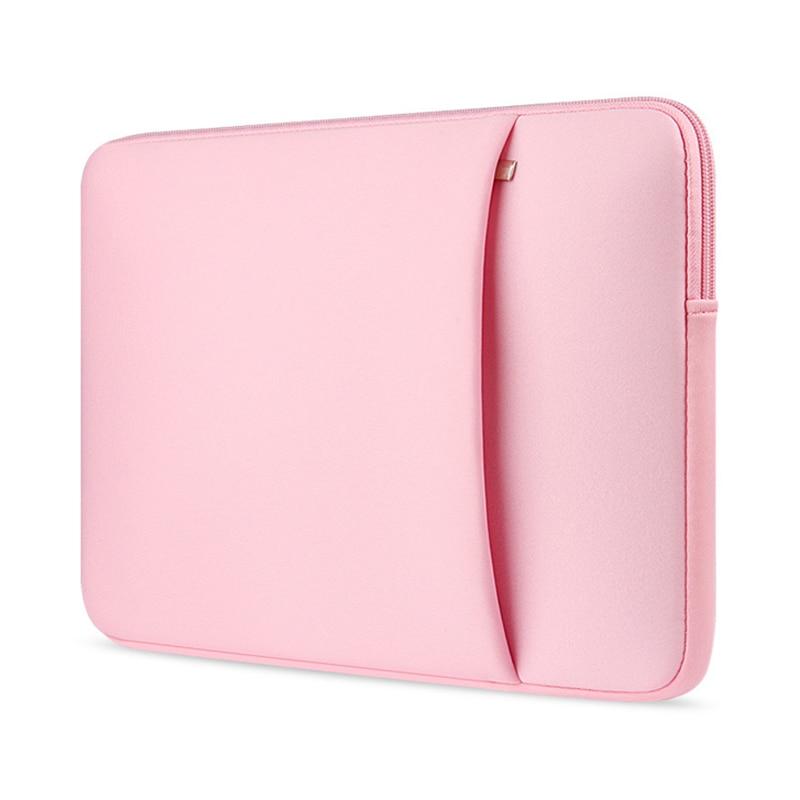 Manga del ordenador portátil 14 portátil de 15,6 pulgadas Bolsa 13,3 para MacBook Pro 13 caso bolsa de ordenador portátil de 11,13 15 pulgadas caso protector