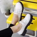 Venta caliente de la Mujer Martin Botas de Zapatos de Invierno Otoño Moda Vintage Plataforma Cordones Kwwp Cálidas Botas de Nieve Mujeres de Alta calidad