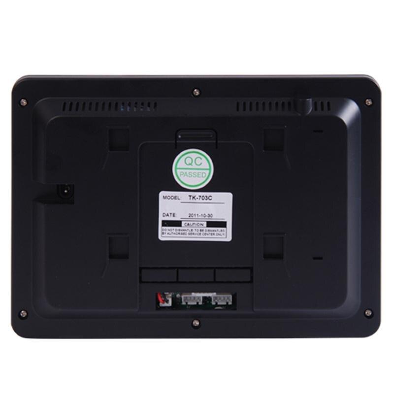 Waterproof Visible Wireless Bell Alarm Doorbells Remote Control Password стоимость