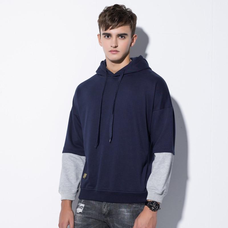 2018 Fashion New Hoodies Brand Sweatshirt Men Coat Hip Hop Mens Sportswear Hooded Sweat Casual Autumn Plus Size Sweatshirt
