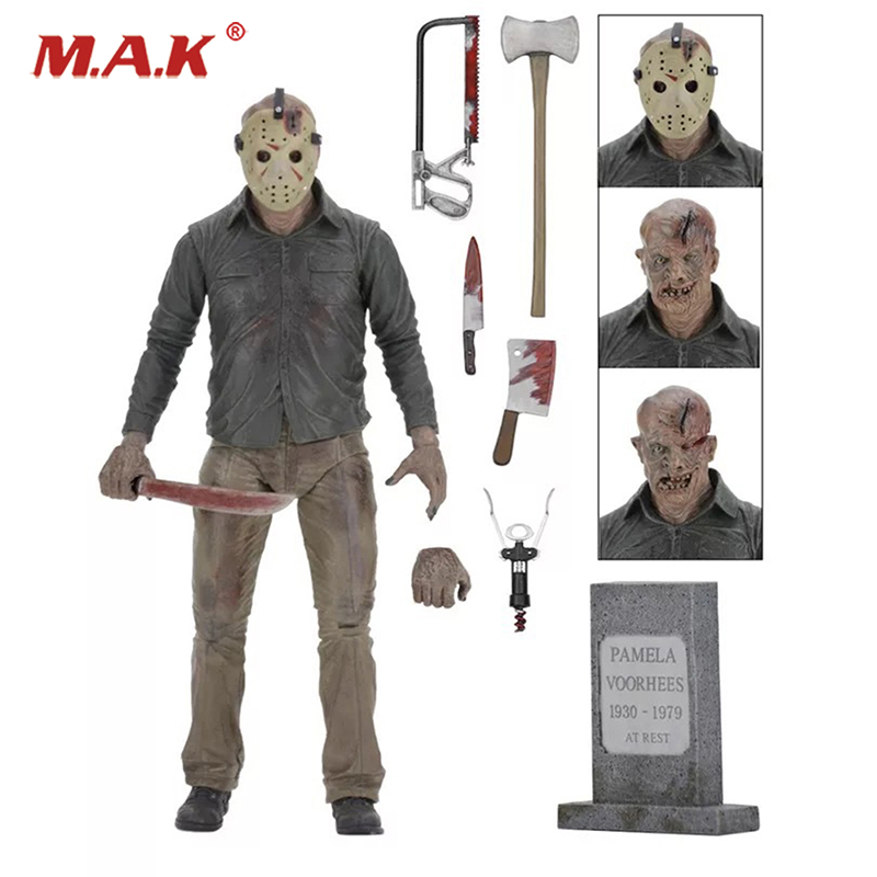 Friday The 13TH The Final Chapter Freddy Vs Jason Cartoon Toy Action Figure Model Doll Gift for Collections friday nights