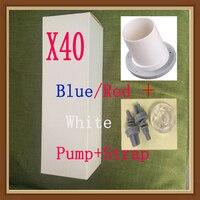 X40 Hydrotherapie X40 waterpomp, vacuümpomp penis, penis pomp water uitbreiding vacuümpomp borstvergroting