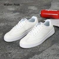 Мужская Вулканизированная обувь, простая повседневная обувь с круглым носком, мужская белая повседневная обувь, мужская обувь, большой раз...
