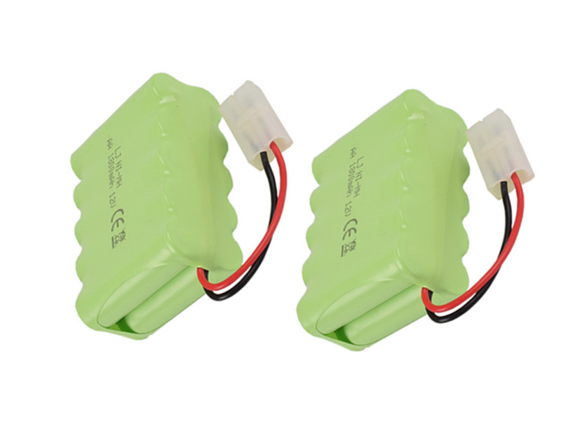 Cncool 2pack Brand new Original NI-MH Battery 12V 1800MAH NI-MH AA Rechargeable Battery With Wires Free Shipping