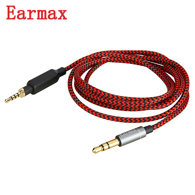 Earmax Headphone Upgrade Cable 3.5mm To 2.5mm Headset Wire 6N Oxygen Free Copper Replaceable For JBL J55/J55A/J88/J88A 1.2m jbl j88a
