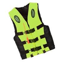 New Dalang Times Boating Ski Vest Adult PFD Fully Enclosed Size Adult Life Jacket Green L