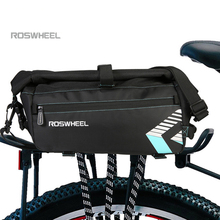 ROSWHEEL 6L Waterproof Bike Bag Bicycle Accessories Saddle Bag Cycling Mountain Bike Back Seat Rear Bags Single Shoulder Bag цена 2017