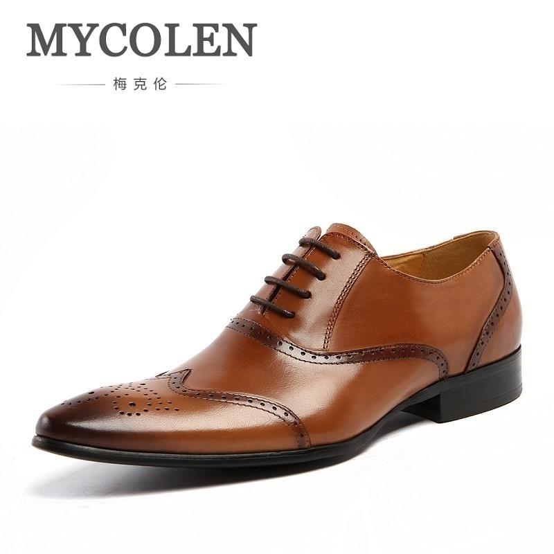 Oxford Mycolen Marrom Black De Plana Genuíno Casamento Homens Vestido Homem Sapatos brown Sociais Marca Luxo Negros Couro Dos Masculino Sapatas ZqPwxrZ
