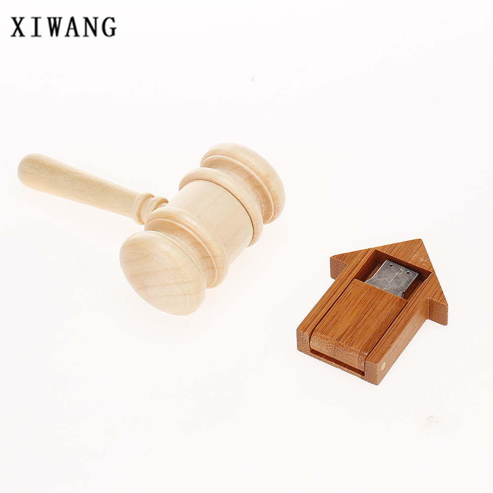 Usb flash drive 2.0 wooden room 4G 8GB pen drive 16G Pendrive 32G 64GB USB memory stick 128gb Bamboo special gift free shipping-in USB Flash Drives from Computer & Office