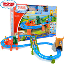 Original Thomas and Friends Castle Adventure Electric Train Track Set Motorized Railway Educational Car Toys for Boys Oyuncak