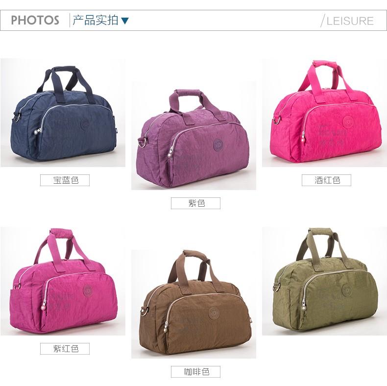 Men Women Outdoor Casual Gym Sport Travel Duffel Bag Waterproof Large Capacity Leisure Crossbody Shoulder Tote Travel Bags (5)