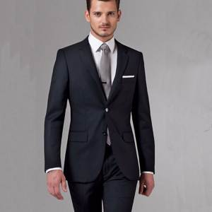 dower me Black Wedding Suits For Men Groom Tuxedos For Men