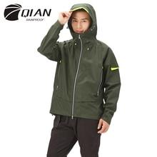 Raincoat Working-Jacket Multi-Functional Waterproof QIAN Impermeable Climbing Men Sports