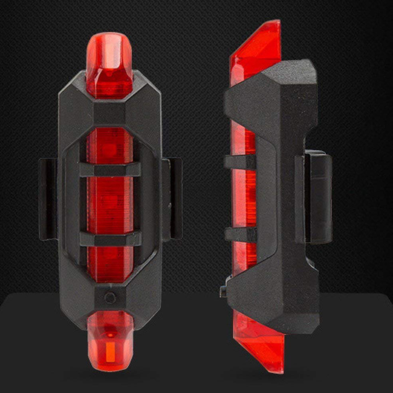WasaFire Hot Sale USB Rechargeable Bike LED Tail Light Bicycle Safety Cycling Warning Rear Lamp Bike Accessories Luz Bicicleta