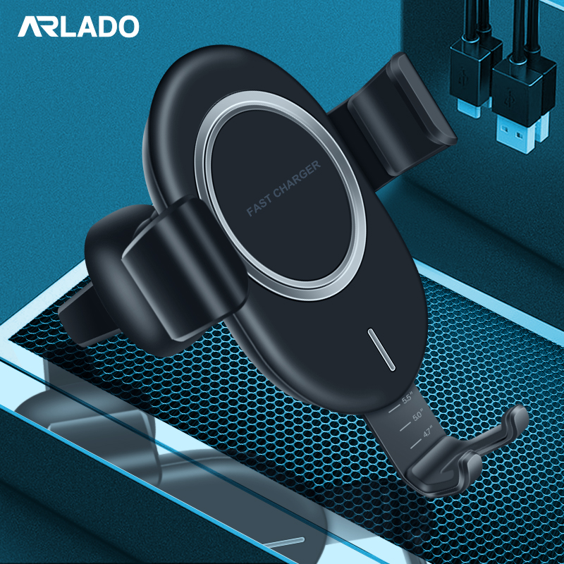 Univeral 10W Fast Car Mount Wireless Quick Charger Holder for iPhone X XR Xsmax Samsung Note 10 9 S9 9+ S8 S8+ Arlado