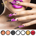 3D Carving Gel UV Sculpture Gel Modelling Carving Sculpting Painting Color Nail Art Tips Decoration DIY Manicure Tools 19 Colors