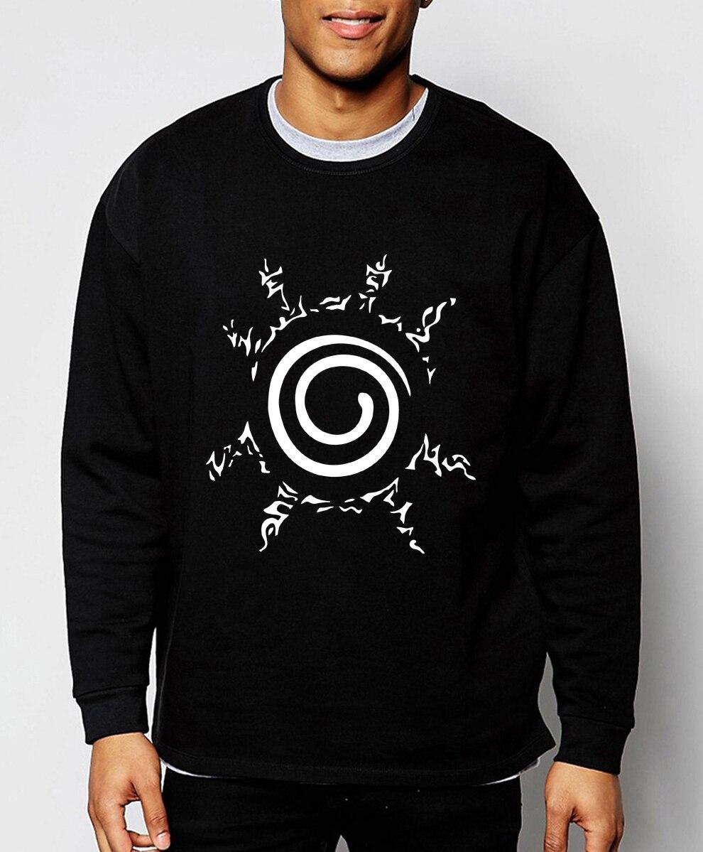Anime Naruto Uzumaki Naruto hoodies men 2019 spring winter men sweatshirt hot sale cartoon hoodie brand clothing loose tracksuit